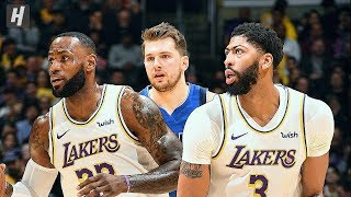 Dallas Mavericks Vs Los Angeles Lakers   Full Highlights | December 29, 2019 | 2019 20 Nba Season