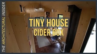 The Most Amazing Designed Tiny House  Cider Box Concept
