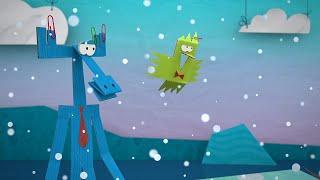 Мультфильм про оригами - Таинственный остров - новая серия 32