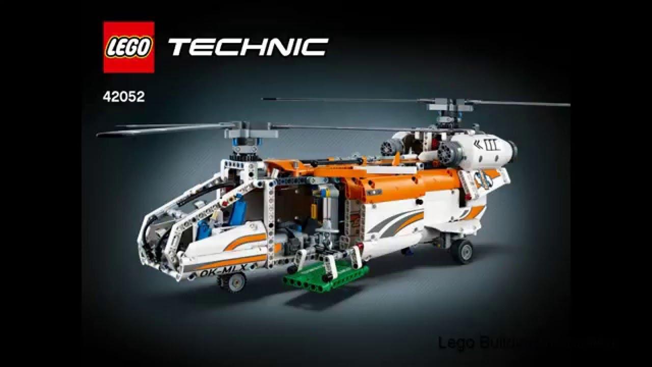 lego technic 2016 42052 tandem rotor helicopter youtube. Black Bedroom Furniture Sets. Home Design Ideas