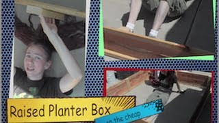 How To Build A Cheap Raised Planter Bed