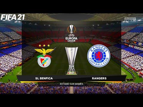 FIFA 21   Benfica vs Rangers - UEFA Europa League - Full Match & Gameplay