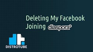 Deleting Facebook and Joining Diaspora
