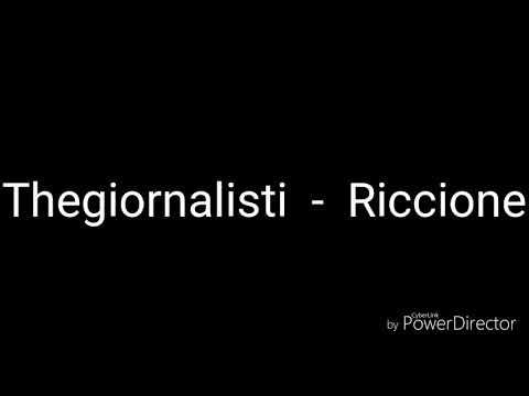Thegiornalisti - Riccione (Testo/Lyrics)