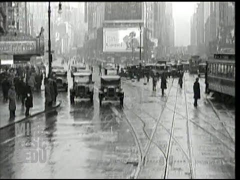 A Ride Down Broadway in 1929