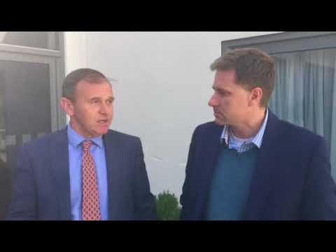 Talking farming matters with George Eustice MP