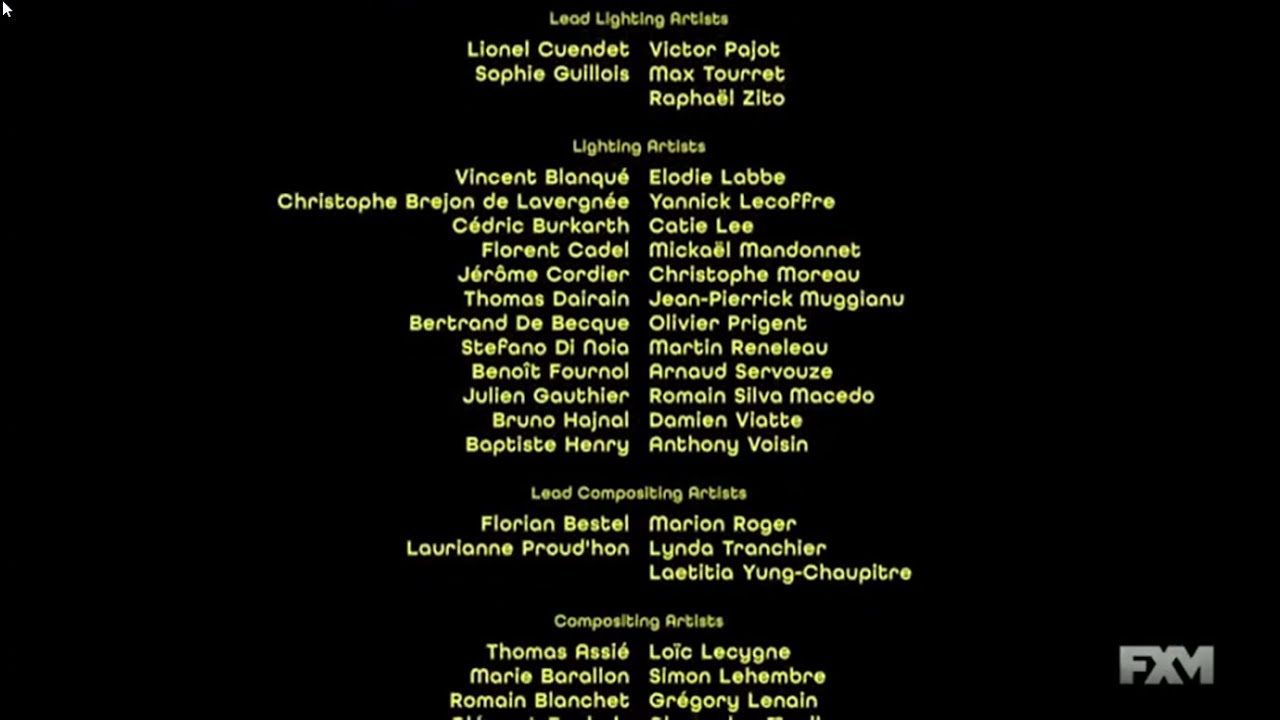 Download Minions (2015) end credits (FXM live channel)