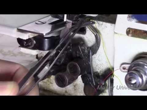 Схемы заправки ниток в китайский трёхниточный оверлок