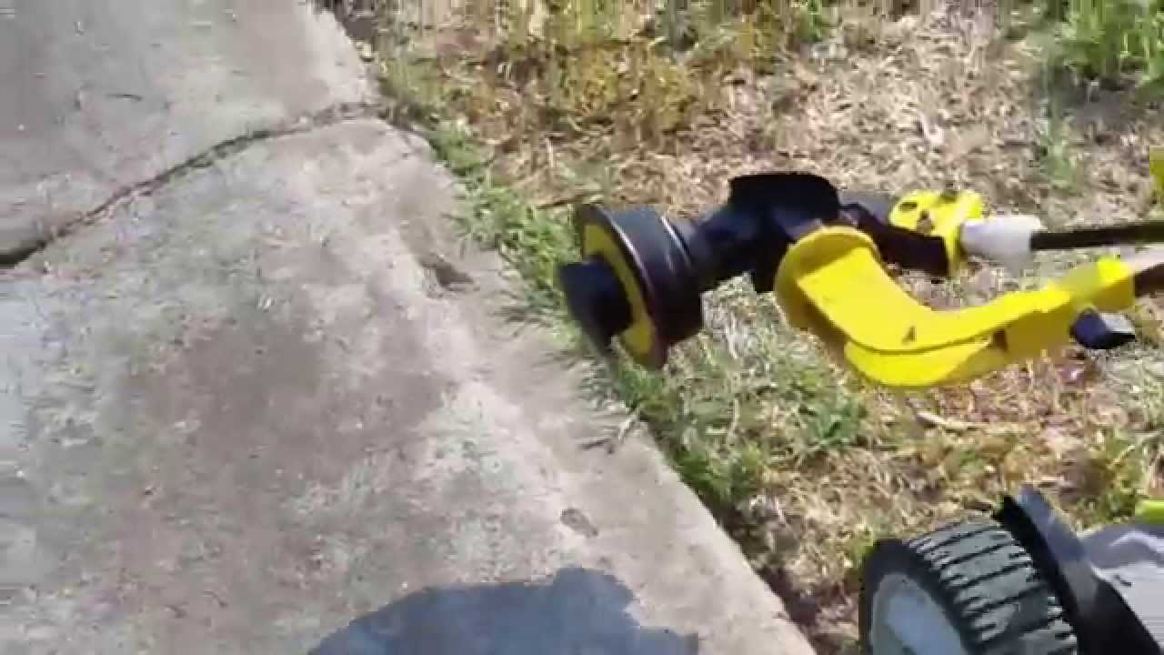 Stiven Mower With Edge Trimmer Attachment Youtube