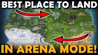 Best Landing Spots For ARENA MODE On Fortnite (Ranked Mode) | GET MORE WINS
