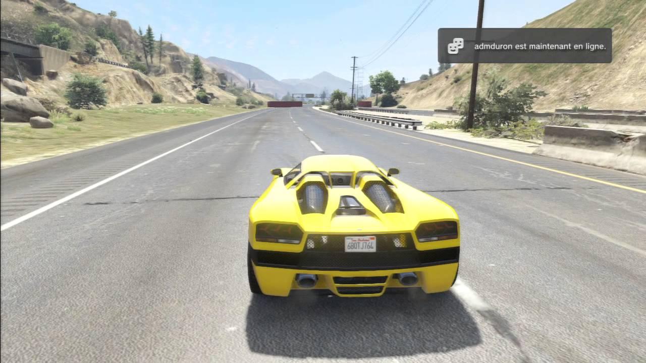 GTA 5 Online Race : Fastest Legendary Cars Drag Race