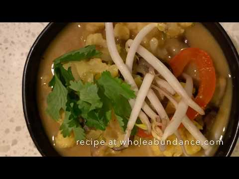 Coconut Bean Sprout Curry