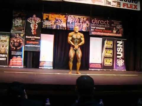 Eddie Drummond Bodybuilding Routine Kent Classic 2011
