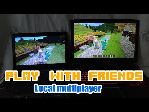 How To Play With Your Friends In Minecraft PC [ Local Multiplayer/ Lan Server ]