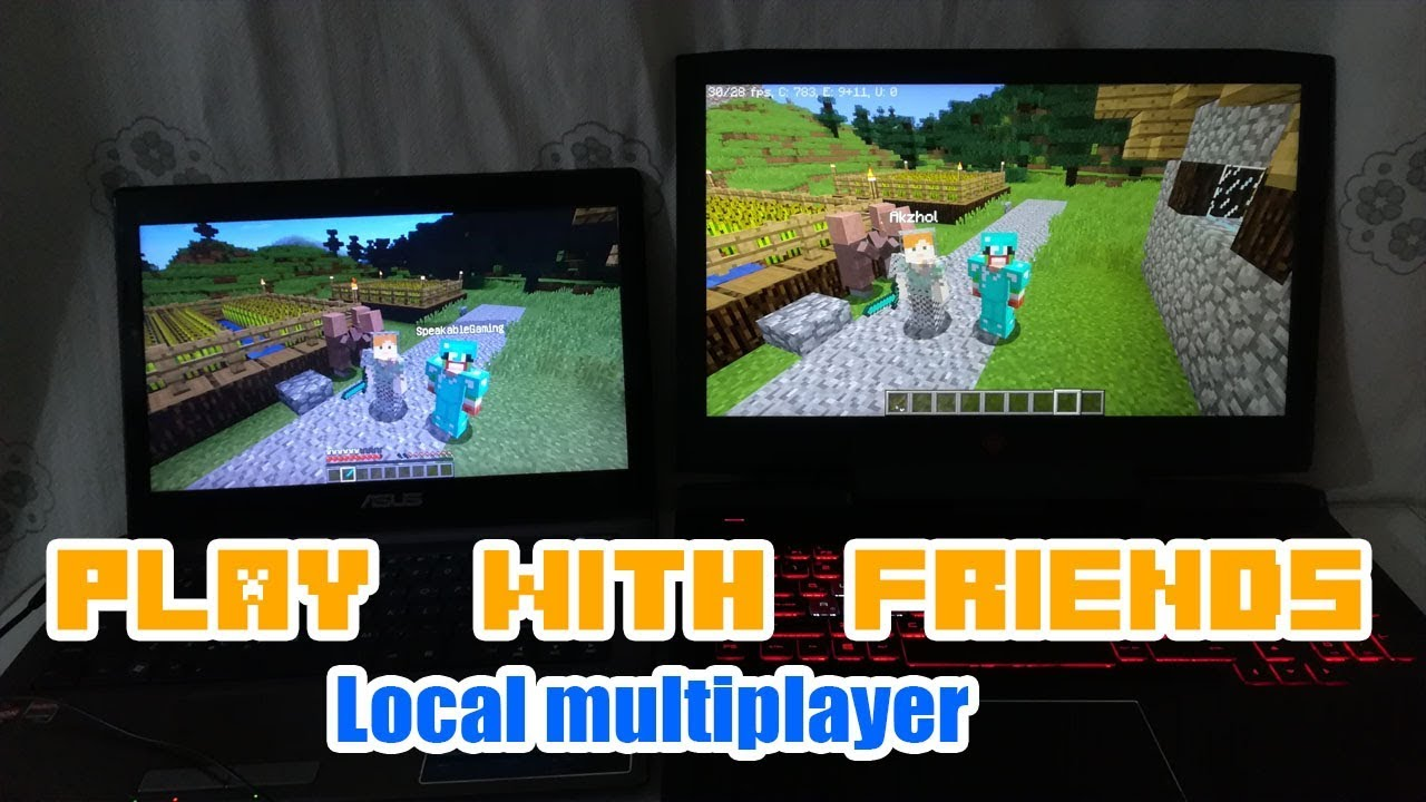 How To Play With Your Friends In Minecraft PC [ Local ...