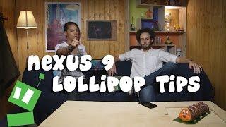 5 Android Lollipop tips on the Nexus 9