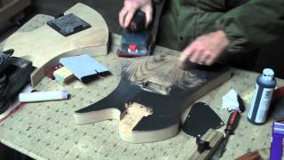 How To Apply A Water-Based Finish On An Electric Guitar Body Part 2