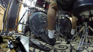 Trivium - The Sin and The Sentence (RAW double bass cam)