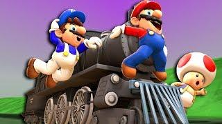 SMG4 Mario s Train Trip