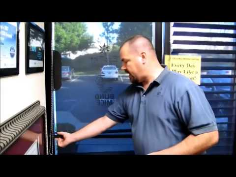 Roller Shades for Commercial Storefront Doors