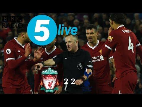 Liverpool 2 Tottenham 2 | BBC Radio 5 Live Reaction | Alan Green
