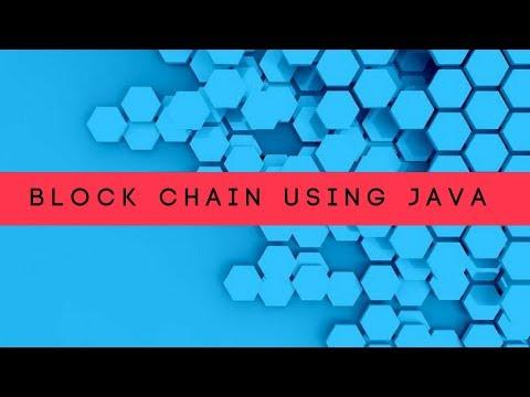 Let's Create Custom BlockChain In Java | Create Block Chain Technology In Java