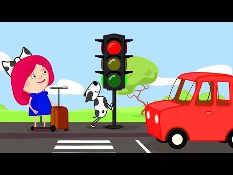 Мультфильм девочка с косичками