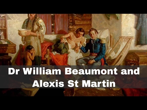 6th June 1822: William Beaumont first treats Alexis St Martin