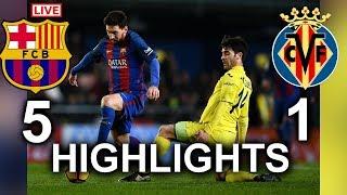 [fifa 18] barcelona vs villarreal highlights- 10/5/2018 all goals and skills