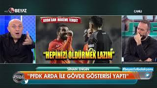Arda Turan'a verilen 16 maçlık cezaya Sinan Engin'den sert tepki
