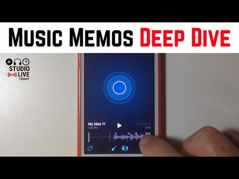 Music Memos on iOS to Capture Song Ideas (iPhone/iPad) - The Complete Tutorial