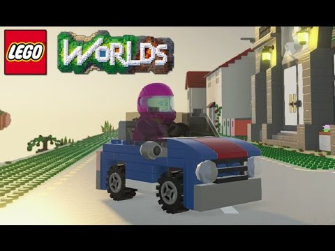 LEGO Worlds - Part 12 [Rowdy Rainforest - 50 Gold Bricks] - Xbox One Gameplay
