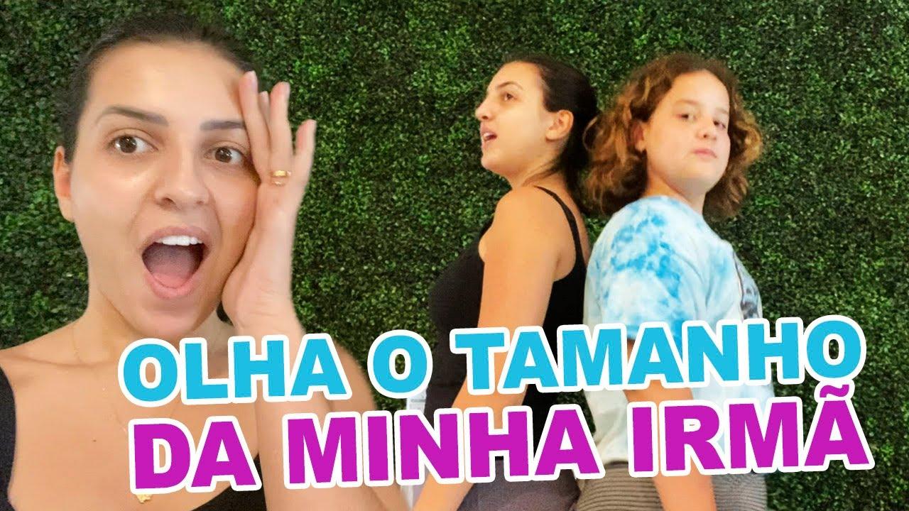 ROTINA DA MANHÃ - MINHA IRMÃ CRESCEU MUITO