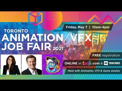 Pipeline Studios Presents: Toronto Animation / VFX Job Fair Livestream 2021