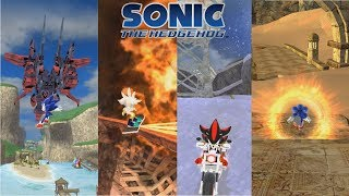 Sonic Generations PC- Sonic The Hedgehog 2006 Project Part 1/ Silver Mod/ Shadow Mod