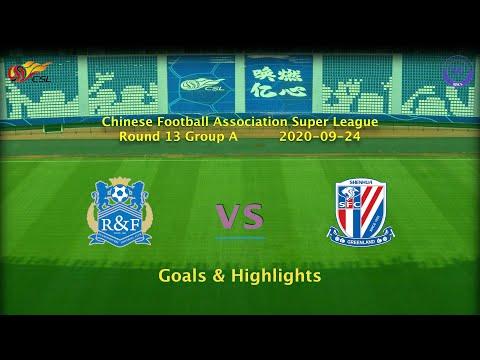 Guangzhou R&F Shanghai Shenhua Goals And Highlights