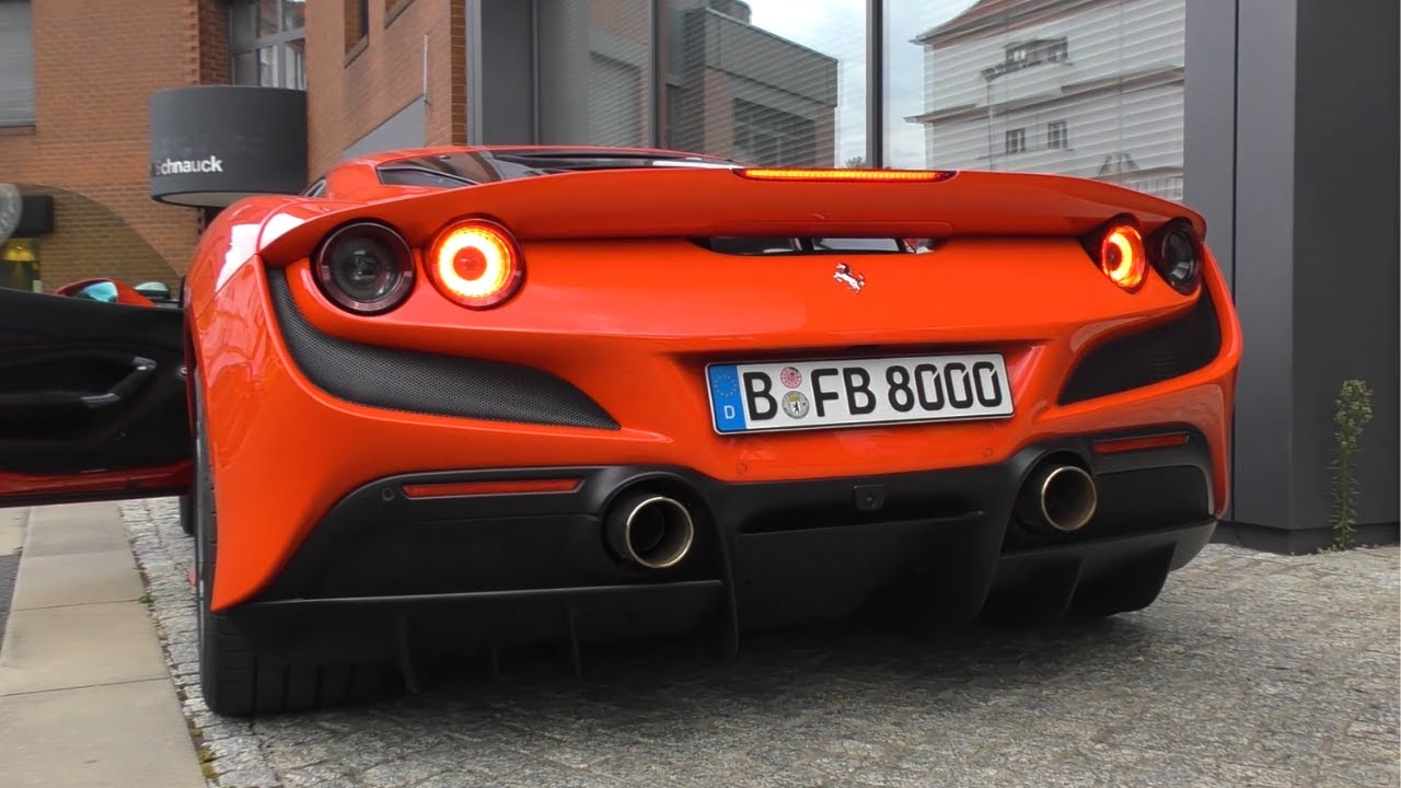 BRAND NEW 2020 Ferrari F8 Tributo - Start Up SOUND!