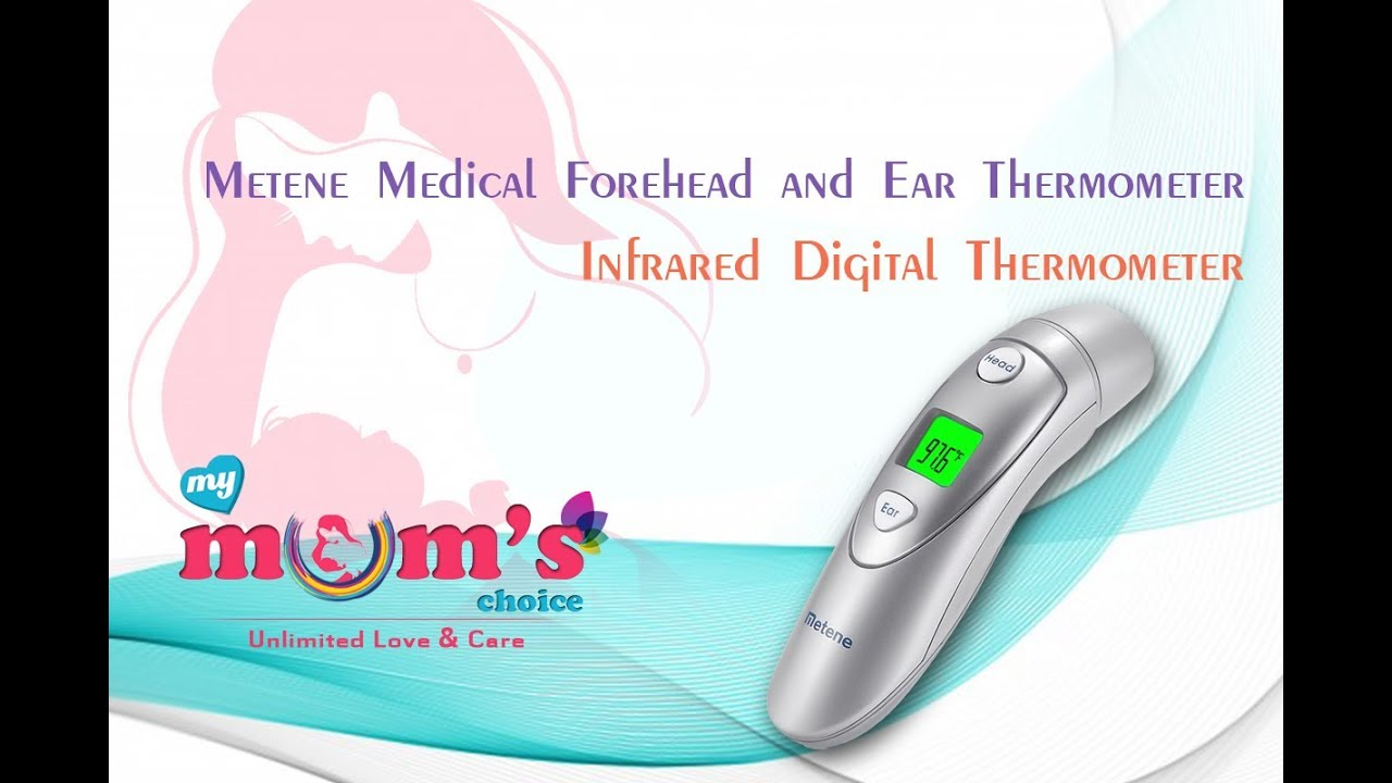 Metene Medical Forehead And Ear Digital Thermometer For Babyinfant Safety Manual Babyinfanttoddler Adults Mymumschoice