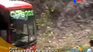 Piura: Mal estado de la carretera hacia Ayabaca es un peligro