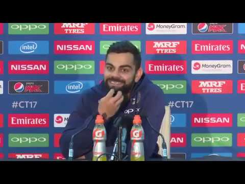 Virat Kohli interview 2017