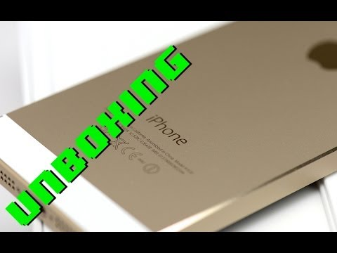 iphone-5s-gold-+-bonus-brown-leather-case-unboxing