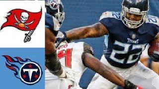 Tennessee Titans vs Tampa Bay Buccaneers Highlights. NFL Preseason Week 2