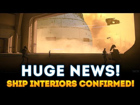 Capital Ship Interiors CONFIRMED! NEW CONCEPT ART! - Star Wars Battlefront 2 thumbnail