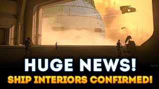 Capital Ship Interiors CONFIRMED! NEW CONCEPT ART! - Star Wars Battlefront 2