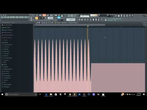 Fl Studio LFO automation Future bass tutorial