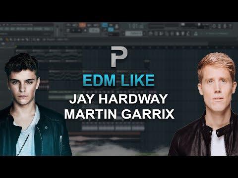 HOW TO MAKE: EDM Like: Jay Hardway, Martin Garrix. - FL Studio tutorial + FLP
