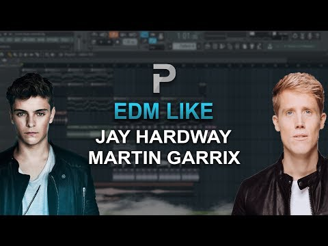 HOW TO MAKE: EDM Like: Jay Hardway, Martin Garrix. - FL Studio tutorial + FLP