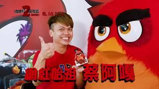 【憤怒鳥玩電影2:冰的啦!】中文版配音 蔡阿嘎  配音94這麼瘋!這麼狂