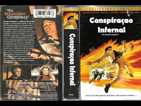 Tr.Conspiraçao Infernal - 1972   - Vhsrip -  Alan Oppenheimer - Rarissimo
