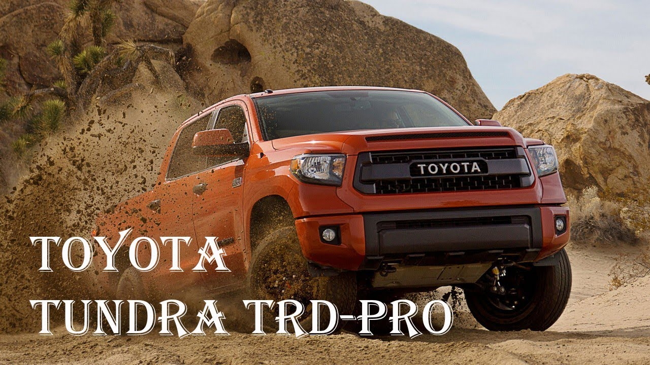 Toyota Tundra Towing Capacity >> Toyota Tundra Trd Pro 2017 Diesel Towing Capacity Engine Interior